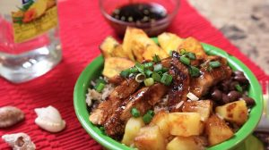 Caribbean Jerk Teriyaki Chicken Bowl